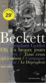 Samuel Beckett ; pièces radiophoniques ; oeuvres théâtrales - Couverture - Format classique