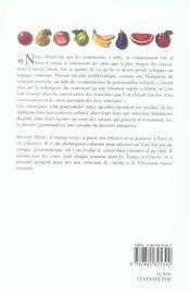 La Plume Et Le Fourneau - 4ème de couverture - Format classique
