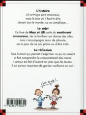 Lili est amoureuse - 4ème de couverture - Format classique
