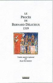 Le procès de bernard délicieux, 1319 - Intérieur - Format classique