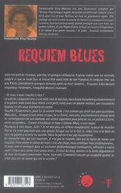 Requiem blues - 4ème de couverture - Format classique