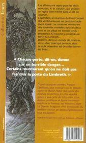 Serie de ki et vandien 3 - porte de limbreth (la) - 4ème de couverture - Format classique