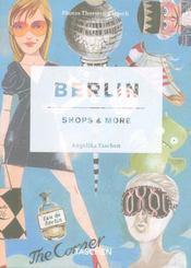 Berlin ; shops & more - Intérieur - Format classique