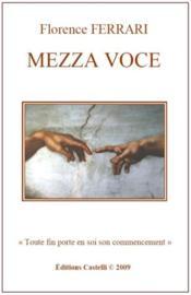 Mezza voce - Couverture - Format classique