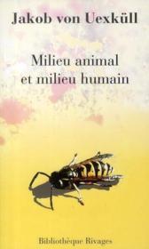 telecharger Milieu animal et milieu humain livre PDF en ligne gratuit