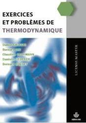Exercices et problèmes de thermodynamique - Couverture - Format classique