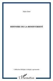Histoire de la biodiversité - Couverture - Format classique