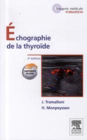 Échographie de la thryroïde (2e édition) - Couverture - Format classique