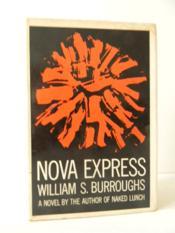 Nova Express. - Couverture - Format classique