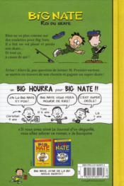 Big Nate, roi du skate - 4ème de couverture - Format classique