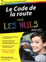 telecharger Code De La Route Pour Les Nuls livre PDF/ePUB en ligne gratuit