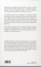 Shoah : dans l'atelier de la mémoire ; France, 1987-2012 - 4ème de couverture - Format classique
