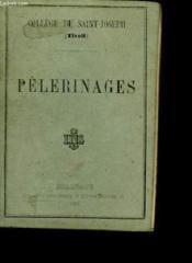 Pèlerinages. - Couverture - Format classique