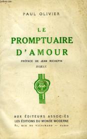 Le Promptuaire D'Amour... - Couverture - Format classique