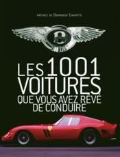 Les 1001 voitures - Couverture - Format classique