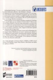 Au miroir de l'anthropologie historique ; mélanges offerts à Nathan Wachtel - 4ème de couverture - Format classique