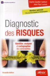 Diagnostic des risques (2e édition) - Couverture - Format classique