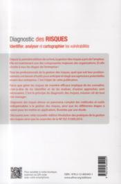 Diagnostic des risques (2e édition) - 4ème de couverture - Format classique