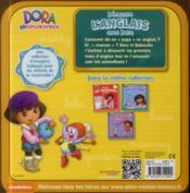 Découvre l'anglais avec Dora - 4ème de couverture - Format classique