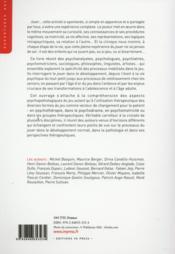Jouer ; le jeu dans le développement, la pathologie et la thérapeutique (2e édition) - 4ème de couverture - Format classique