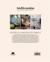 Nouvelles maisons de familles - 4ème de couverture - Format classique