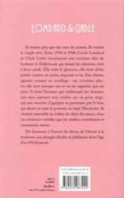 Carole & Clark - 4ème de couverture - Format classique