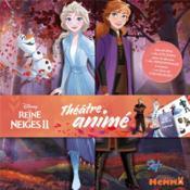 La Reine des Neiges 2 ; théâtre animé ; Elsa et Anna - Couverture - Format classique