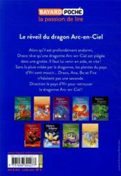Maîtres des dragons T.10 ; le réveil du dragon Arc-en-Ciel - 4ème de couverture - Format classique