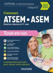 Concours ATSEM/ASEM ; externe, interne, 3e voie ; tout-en-un (édition 2021/2022) - Couverture - Format classique
