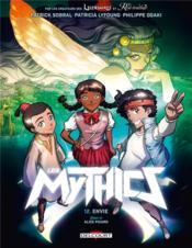 Les Mythics T.12 ; envie - Couverture - Format classique