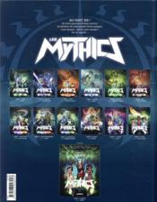 Les Mythics T.12 ; envie - 4ème de couverture - Format classique