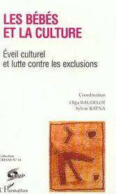 Les Bebes Et La Culture ; Eveil Culturel Et Lutte Contre Les Exclusions - Intérieur - Format classique