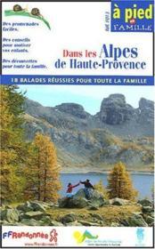 Dans Les Alpes De Haute Provence 2005 - 04 - Apf - F013 - Couverture - Format classique
