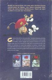 Bone t.2 ; la grande course - 4ème de couverture - Format classique