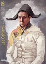 Cahiers Du Musee National D'Art Moderne N.106 - Couverture - Format classique
