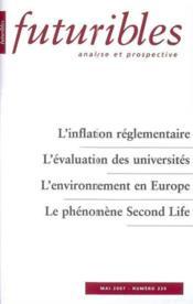 L'inflation reglementaire - Couverture - Format classique