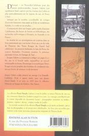 Chroniques des terres rouges ; le grand sud calédonien - 4ème de couverture - Format classique