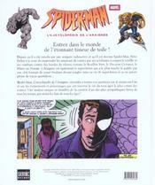 Spider-Man ; L'Encyclopedie De L'Araignee - 4ème de couverture - Format classique