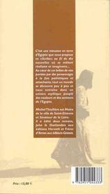 Le scribe ; nouvelles d'egypte - 4ème de couverture - Format classique