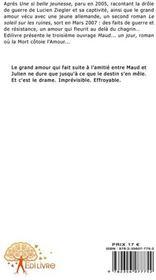 Maud... un jour - 4ème de couverture - Format classique