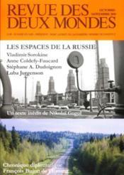 Revue Des Deux Mondes ; Les Espaces De La Russie - Couverture - Format classique