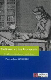 Voltaire Et Les Genevois - Couverture - Format classique