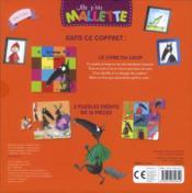 Ma P'Tite Mallette ; Le Loup Qui Voulait Changer De Couleur ; Coffret - 4ème de couverture - Format classique