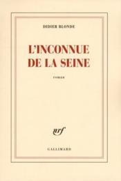 L'inconnue de la Seine - Couverture - Format classique