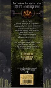 Léviathan t.3 ; Goliath - 4ème de couverture - Format classique