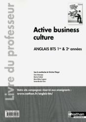 Activé business ; culture anglais ; BTS 1re & 2e années ; livre du professeur (édition 2012) - Couverture - Format classique