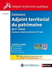telecharger Concours adjoint territorial du patrimoine de 1ere classe – categorie C livre PDF/ePUB en ligne gratuit