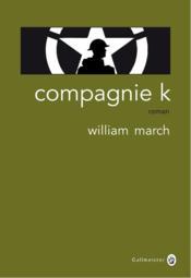 Compagnie K - Couverture - Format classique