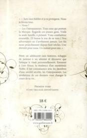 Les Outrepasseurs T.1 ; les héritiers - 4ème de couverture - Format classique