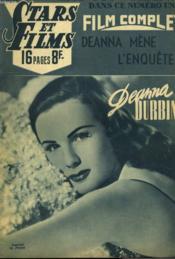 Stars Et Films - N°16 - Deanna Mene L'Enquete - Couverture - Format classique